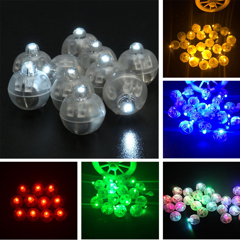 10pcs/Lot Mini Led Lamps Balloon Light glow For Paper Lantern Balloon Wedding Party Halloween Xmas Birthday Decor