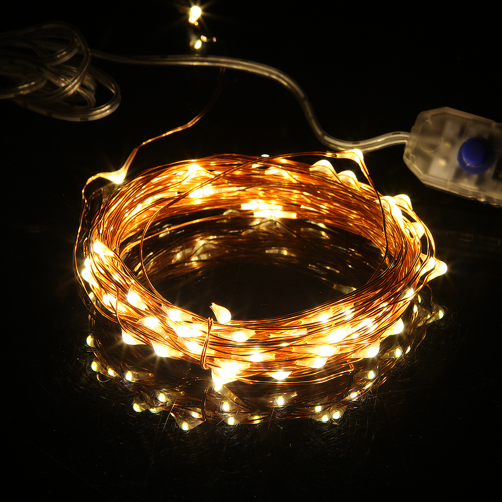 Key Arena Christmas Lights: USB LED String Light 5M 10M Waterproof Fairy Holiday