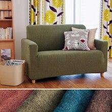 Simple y moderno de todo incluido cubierta de la funda de sofá antideslizante elástica todo cubierta de la toalla sofá de tela cubre personalizar