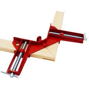 Image 2 - 4pcs/lot 4inch Multifunction corner clamp right angle 90 degree right angle clamps  for woodworking Clip Picture Frame