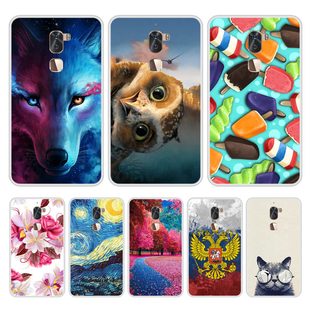 Case Cover for LeEco Cool 1 Soft Silicone TPU Cool Pattern Printing for LeEco Cool1 Phone Case In Stock