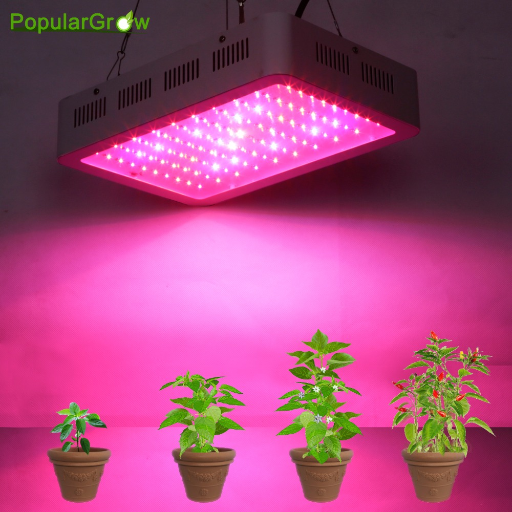 Best Full Spectrum 300W led <font><b>grow</b></font> light for hydroponics greenhouse <font><b>Grow</b></font> <font><b>Tent</b></font> box LED Lamp suitable for all stages of plant growth image