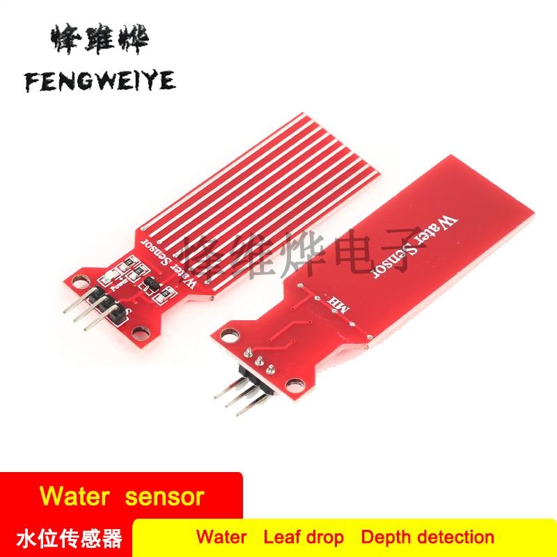 Panel Water Level Sensor Water Sensor for Moisture Droplet Depth Detection Compatible