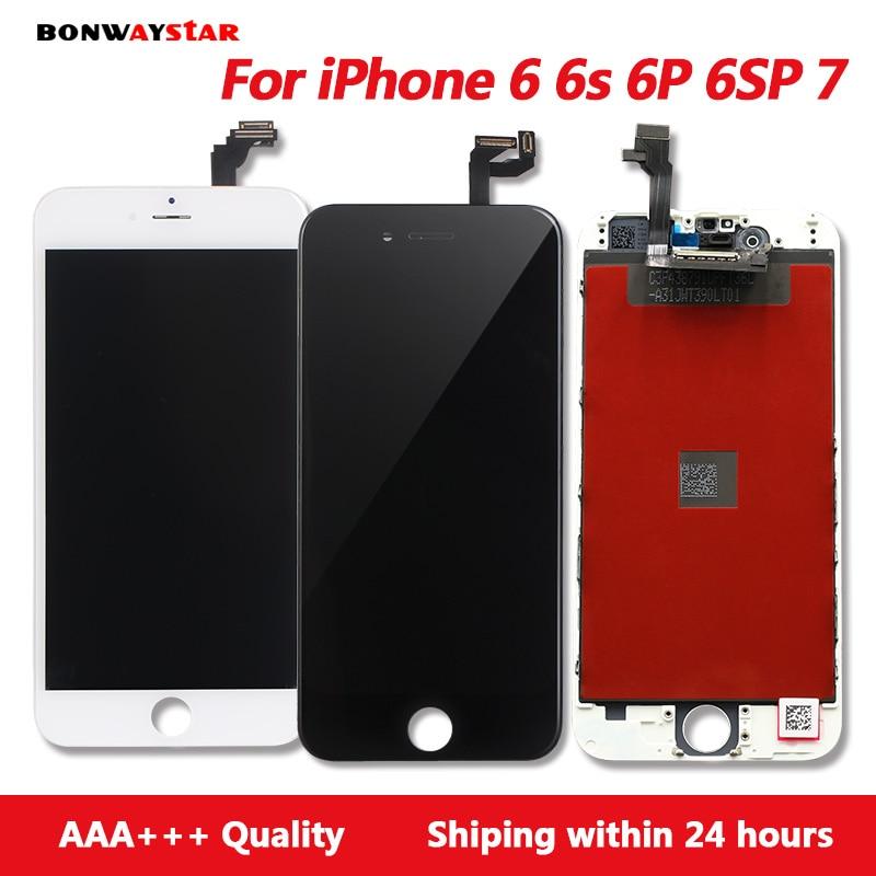 AAA LCD Screen Für iphone 6 6 s plus Display Montage Ersatz mit Original Digitizer Telefon Teile für iphone 6 7 LCD Pantalla