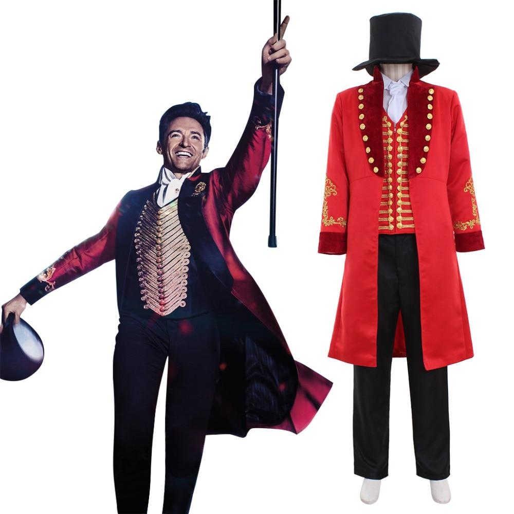 Cosplaydiy le plus grand Showman Cosplay Costume adulte hommes les plus grands Showmen P.T. Déguisement Cosplay Barnum Version 2