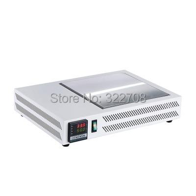 Honton Free shipping Constant temperature Taiwan anti   hot heating table heating plate platform temperature platform 300*300mm platform     - title=