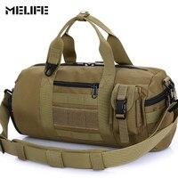 MELIFE Waterproof Sports bag Single shoulder Travel bag Molle Men women Gym bags Tactical Hiking Fishing Yoga Package 1000D