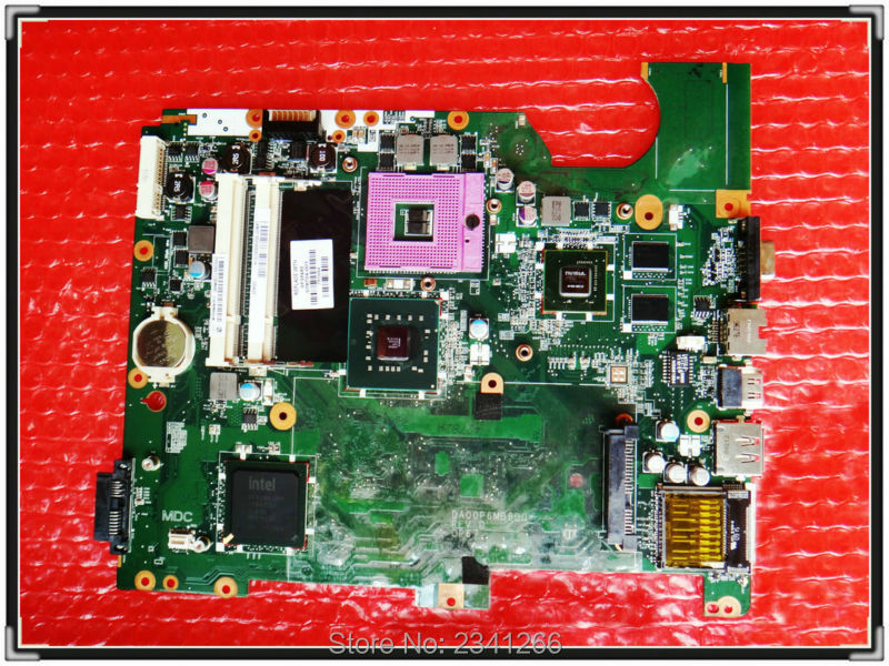 for HP G71 NOTEBOOK 578704-001 for HP Pavilion G71 CQ71 CQ61 G61 Motherboard DA00P6MB6D0 for intel PM45 Free shipping