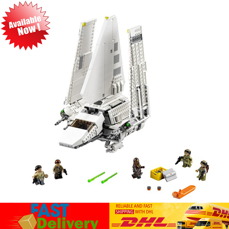 IN Stock 2503 Pcs LEPIN 05034 Star Wars The Imperial Shuttle Model Compatible LegoINGlys 10212 Building Blocks Bricks Toys недорого