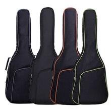 цена на Guitar BagsThicken Folk Flattop Balladry Steel-string Acoustic Classical 36 38 39 40 41'' Guitar Bag Case Backpack  Carry Gig