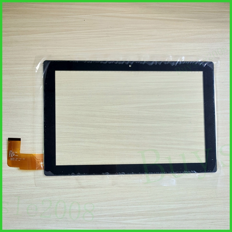 New replacement Capacitive touch screen touch panel digitizer glass sensor For 10.1 inch Tablet HSCTP-747-10.1-V0 Free Shipping new capacitive touch screen digitizer glass for 10 1 irbis tw55 tablet sensor touch panel replacement free shipping