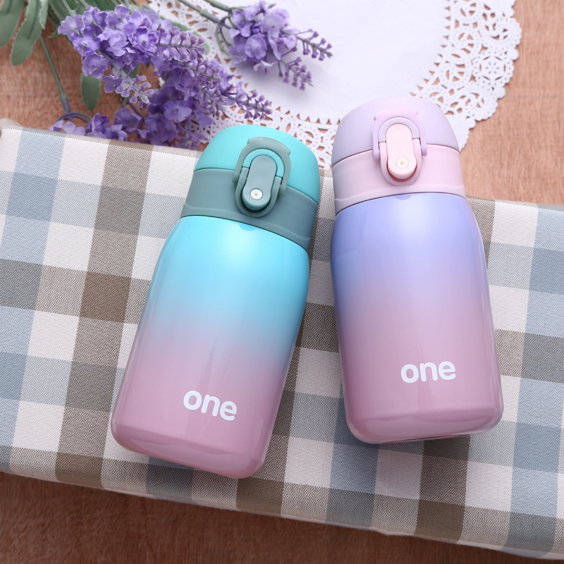 Stainless Steel Thermal Thermos Bottle Flask Tumbler Cup
