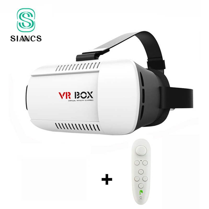 Google Cardboard <font><b>VR</b></font> BOX <font><b>Virtual</b></font> <font><b>Reality</b></font> Lunette 3D <font><b>Glasses</b></font> Goggles 3 D Helmet <font><b>Remote</b></font> Control Gamepad for iPhone Samsung Android