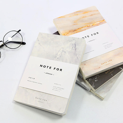 Japoński śliczne papeterii uwaga dla ciszy marmuru wzory miękkie etui A5 Notebook linie skład pamiętnik szwy wiążące
