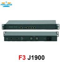 Дешевые 1U стоечный сервер J1900 4 Lan ethernet безопасности межсетевого экрана устройства сети маршрутизатора 1U стоечный сервер