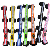 Colorful-Lighting Equestrian-Equipment Saddle HALTERS-ACCESSORIES Horse-Riding LED 34--2.5cm