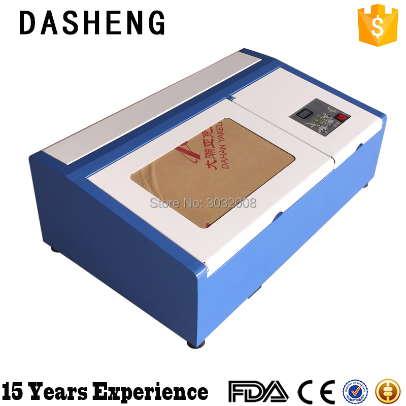 HI 2030 40W mini CNC co2 laser engraver cutting machine portable wood acrylic Dasheng laser