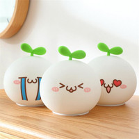 Long Grass Yan Dumpling Wholesale Custom Cartoon Expression Package Silicone Storage Pot