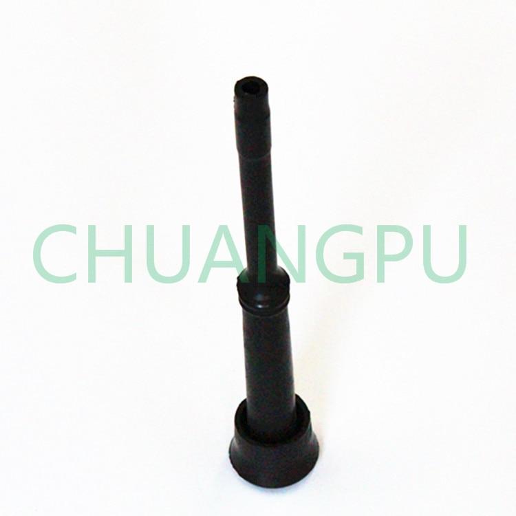 color negro Mxfans Rueda de precisi/ón para puerta de garaje 4 unidades, nailon, con v/ástago de 11,4 cm