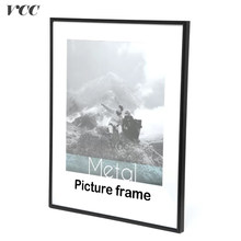 Picture Frame For Wall Poster Frame Metal 40X50 50X60 40X60 Wall Art Decorative Metal Photo Frame,Unassembled Framework,No glass(China)