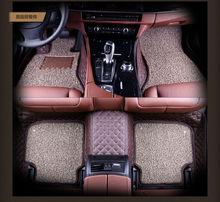 auto floor mats pad for VW Polo PASSAT GOLF SANTANA Touran JETTA Tiguan BORA Sagitar magotan beetle Phaeton Touareg Lavida GOL цена