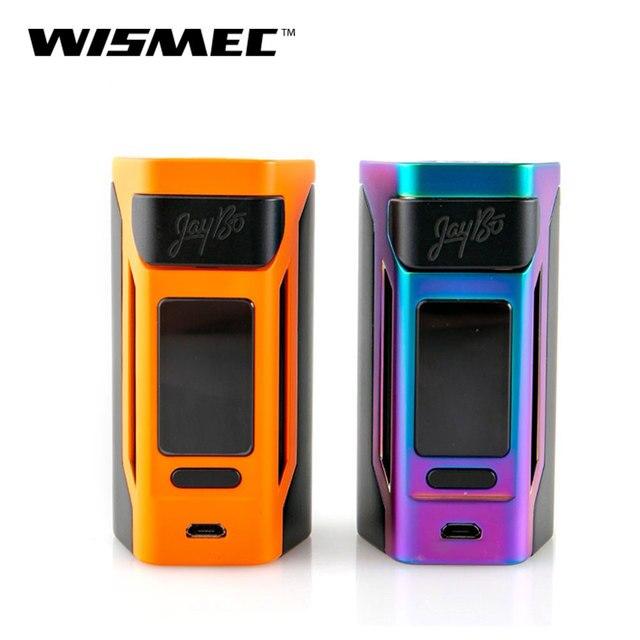 Оригинальный wismec reuleaux RX2 20700 коробка mod Выход 200 W VW/TC/режим ТКС VS Gen3 Двойные электронные сигареты vape mod