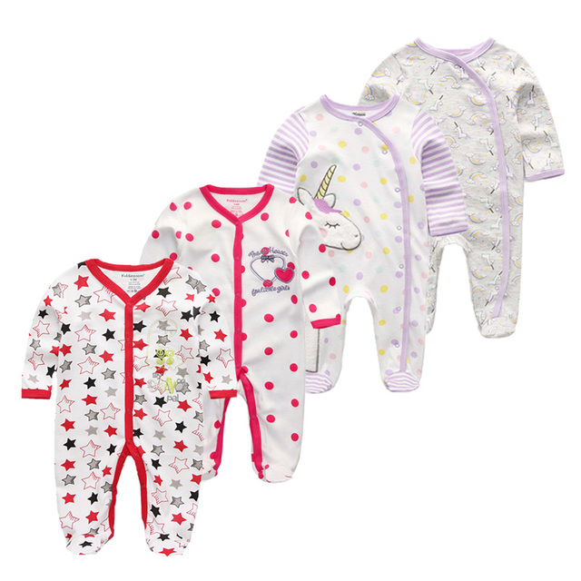 Baby Boys Rompers Soft...