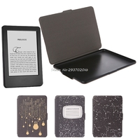 Leather Protective Cover Case   Tablet   Stand For Amazon Kindle Paperwhite   1  /  2  /3 HULL4