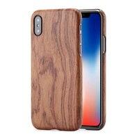 Gỗ tự nhiên trường hợp điện thoại ĐỐI VỚI Iphone X Cho iphone 8 cộng với Cho iphone 8 nghiên bìa bamboo/Walnut/Rosewood/Black ice gỗ/apricot