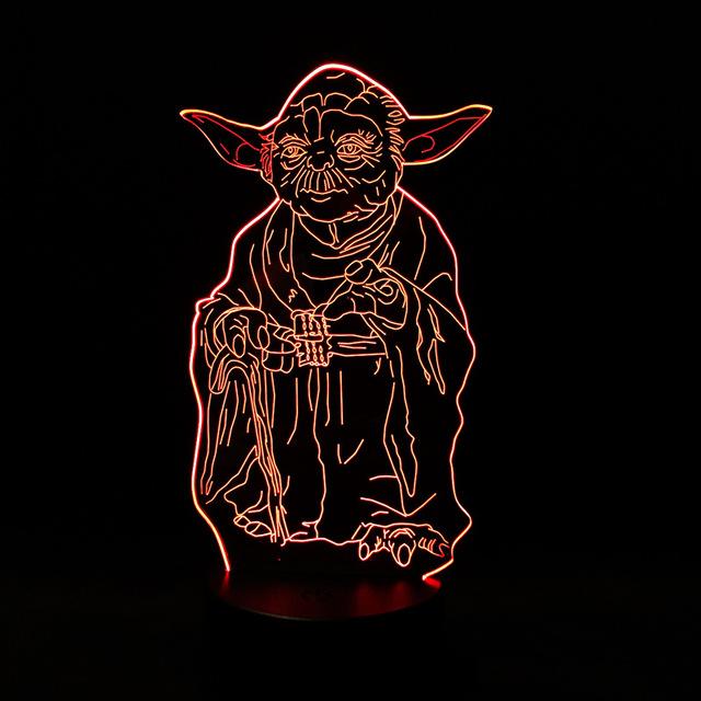 Star Wars Yoda Night LED