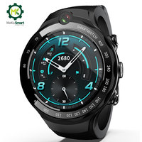 MOKA 4G Смарт часы мужские 400*400 AMOLED экран Android 7,1 MTK6739 5MP Двойная камера с gps WiFi smartwatch для ios