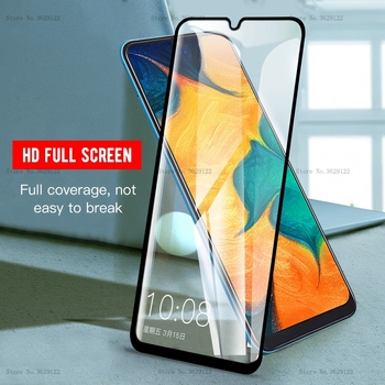 9H Full Cover Tempered Glass Screen Protector For Samsung Galaxy A50 A30 For Samsung Galaxy M20 SM-M205FD M10 S10e Glass Film image