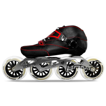 US $648.0 30% OFF|100% Original BONT Professional Speed Inline Skates Roller Heatmoldable Carbon Fiber Boot 125mm Wheels Skates For Kids Adult BT1 in