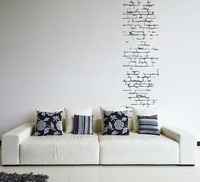Wall Decal Vinyl Brick Sticker Removable Art Modern Creative Style Living Room Bedroom Decor Wall Paper
