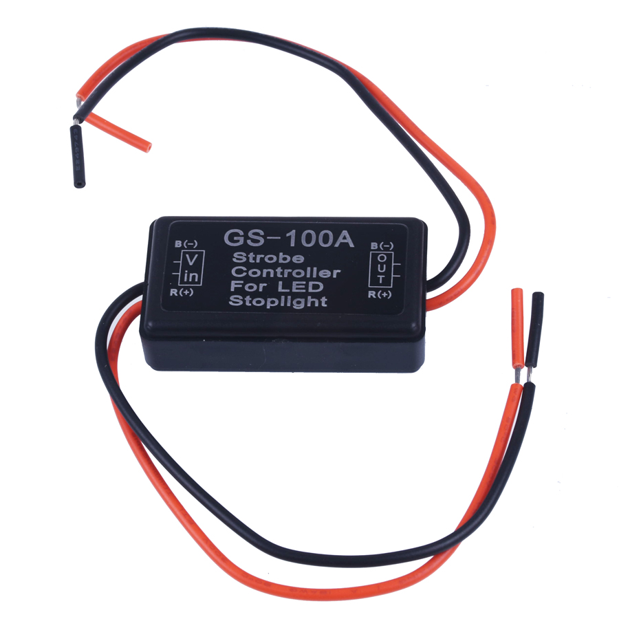 2018 New Auto Car 12v Gs 100a Led Brake Stop Light Strobe Flash Flasher Headlight Flashing Circuit Motorcycle Tail Controller Box On Alibaba Group