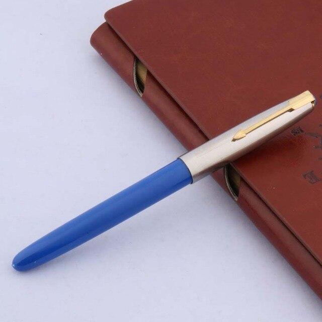 1pc 616 new color plastic popular F nib classic fountain pen 3