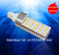 Hot sale high power warm white/cool white/white 5W G24 / E27 LED pl light 25SMD 5050 DHL Free shipping