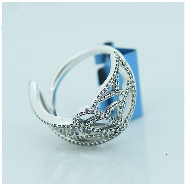 Compatible With Pandora Jewelry Erfly Wing Silver Rings New 100 925 Sterling Ring Diy Women Whole