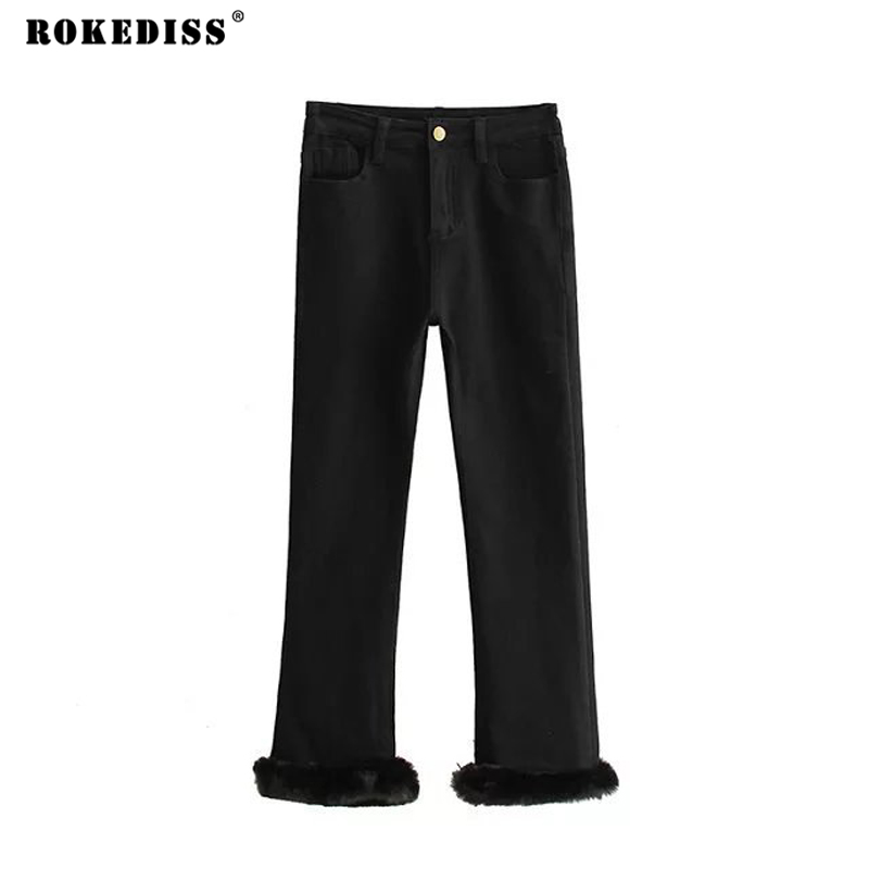 ROKEDISS Jeans For Women 2017 Hot Sale Vintage Distressed Regular Spandex Ripped Denim Harem Pants Woman Black Jeans X110 2016 hot sale patchwork ripped holes harem pants jeans slim vintage hole ripped denim distressed boyfriend jeans for women gary