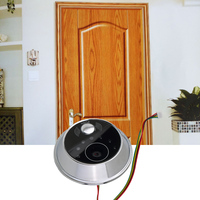 Worldwide 2.8 digital door peephole viewer security lcd peephole door viewer sensor Monitor Peep Hole Viewer Camera Video DIY