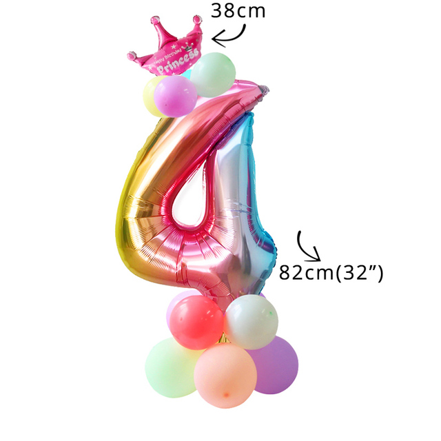 16pcs balloon kit 4