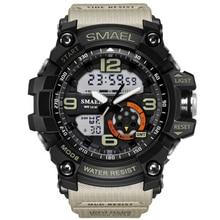 Military Watch Men 2018 LED Digital Quartz Clock Dual Display Multifunction Wristwatch Large Dial Mens Sports Watch Waterproof все цены