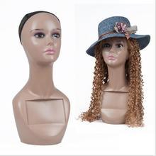 Hot Sale Mannequin Dummy Manikin Realistic Maniqui African Female Mannequin Head For Wigs