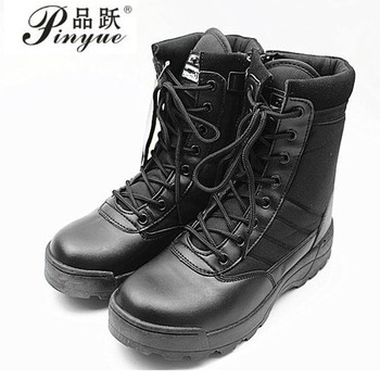 Suede Riding Boots | Men Desert Tactical Military Boots Mens Work Safty Shoes  Army Boot Militares Tacticos Zapatos Ankle Combat Boots