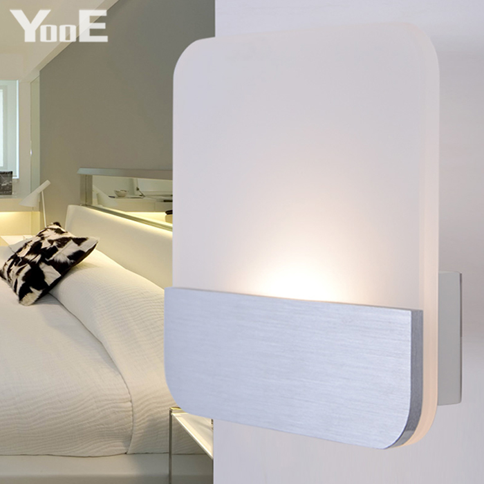 Indoor LED Wall Lamp  9W  AC110V/220V Fashion Acrylic Lighting Sconce bedroom Warm White Decorate Wall Lights Free shipping contemporary led wall lamp with butterfly lampshade for bedroom foyer 15w wall sconce white warm white indoor lighting lamp
