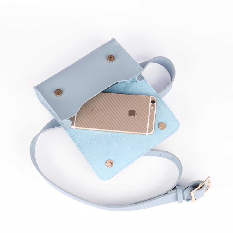 Mihaivina moda damska talia torba PU skórzana saszetka biodrowa dla kobiet dziewczyna podróżna torba biodrowa paczka najnowszy torebka biodrowa torebka w klatce piersiowej