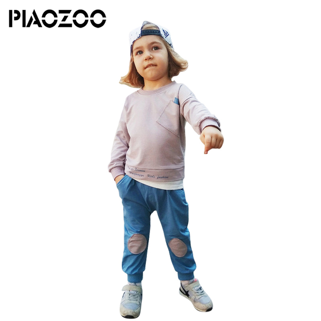 Baby Boy Clothes infant girl clothing full sleeve Shirt Tops Pants Cotton Clothing Set girls tracksuits children sports suitsP20