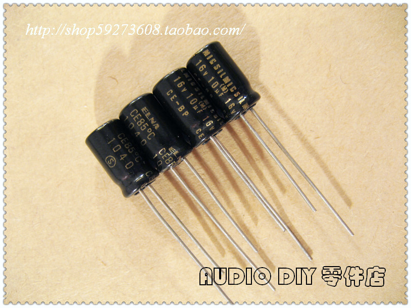 30PCS ELNA SILMIC CE-BP (RBS) 10uF/16V audio with non-polar electrolytic capacitors free shipping