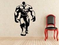 Classic Marvel Cartoon Wall Stickers For Kids Rooms Vinyl Hulk Sticker Modern Design Boys Bedroom Interior