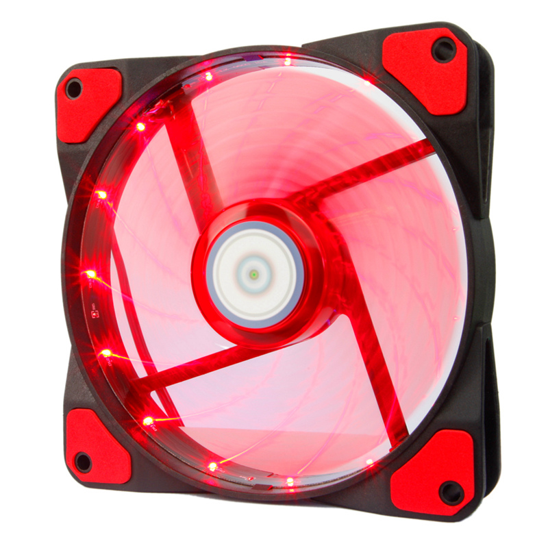 ALSEYE LED 120mm fan LED radiator Computer case fan cooler 3-4pin 1300RPM 12v water cooling fan цена и фото